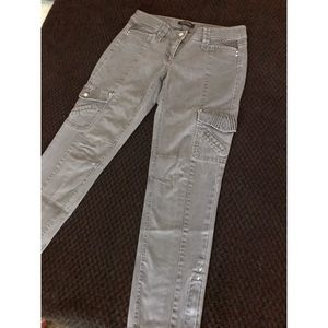 WHBM Utility Jean with ankle zipper